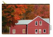 A Beautiful Country Building In The Fall 2 Carry-all Pouch