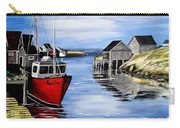 A Beautiful Day At Peggy's Cove  Carry-all Pouch
