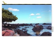 A Beautiful View Of The Sea From Mauritius Carry-all Pouch