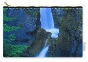 A Beautiful Waterfall, Johnston Canyon Carry-all Pouch