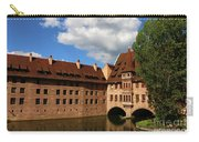 A Big Sky Over Old Architecture Carry-all Pouch