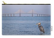 A Bird And A Bridge Carry-all Pouch