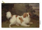 A Blenheim Spaniel Carry-all Pouch