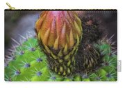 A Blooming Cactus Carry-all Pouch