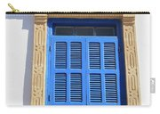 A Blue Window In Morocco Carry-all Pouch