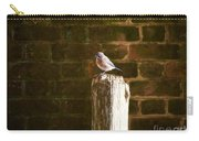 A Bluebird At The Governor's Palace Gardens Carry-all Pouch