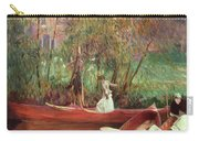 A Boating Party  Carry-all Pouch by John Singer Sargent