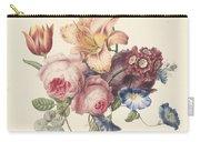 A Bouquet, Henriette Geertruida Knip, Ca. 1820 Carry-all Pouch