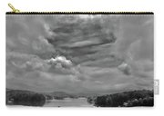 A Break In The Storm Bw Carry-all Pouch