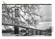 A Bridge In Winter Carry-all Pouch