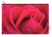 A Bright Pink Rose Close-up Carry-all Pouch