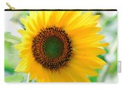 A Bright Yellow Sunflower Carry-all Pouch