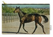 A Brisk Paddock Romp Carry-all Pouch