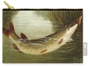 A Brown Trout Coming To The Gaff  Carry-all Pouch