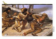 A Brush With The Redskins 1891 Carry-all Pouch