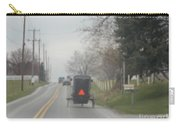 A Buggy Travels Down A Road In Spring Carry-all Pouch