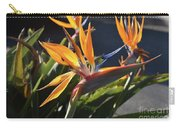 A Bunch Of Bird Of Paradise Flowers Bloomed  Carry-all Pouch
