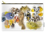 A Bunch Of Colorful Fish No 05 Carry-all Pouch