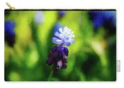 A Bunch Of Flowering Two-tone Grape Hyacinths, No.2. Carry-all Pouch