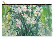 A Bunch Of Orchid Paintings Carry-all Pouch