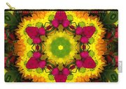 A Burst Of Flowers Kaleidoscope Carry-all Pouch