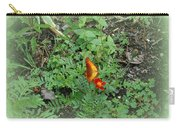 A Butterfly In The Garden Carry-all Pouch