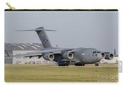 A C-17 Globemaster Strategic Transport Carry-all Pouch