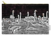 A Cacophony Of Swans Carry-all Pouch