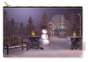A Calm Winters Night Carry-all Pouch