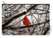 A Cardinal In Winter Carry-all Pouch