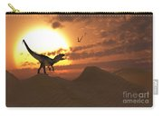 A Carnivorous Allosaurus Calling Carry-all Pouch