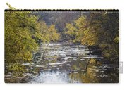A Change Of Season Along Skippack Creek Carry-all Pouch
