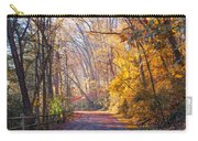 A Change Of Seasons On Forbidden Drive Carry-all Pouch
