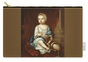 A Child Of The Pierpont Family Carry-all Pouch