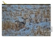 A Christmas Day Young Buck Carry-all Pouch