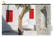 A Church And A Tree Carry-all Pouch