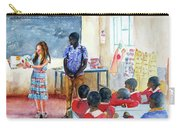 A Classroom In Africa Carry-all Pouch