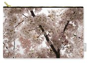 A Cloud Of Pastel Pink Cherry Blossoms Celebrating The Arrival Of Spring  Carry-all Pouch