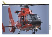 A Coast Guard Mh-65 Dolphin Helicopter Carry-all Pouch by Stocktrek Images