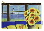 A Coastal Window Lighthouse View Carry-all Pouch
