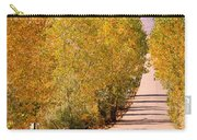 A Colorful Country Road Rocky Mountain Autumn View  Carry-all Pouch