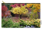 A Colorful Fall Corner Carry-all Pouch