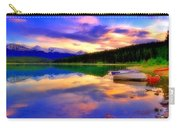 A  Colourful Evening At Lake Patricia Carry-all Pouch