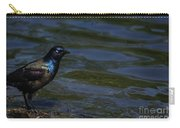A Common Grackle Carry-all Pouch