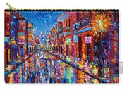 A Cool Night On Bourbon Street Carry-all Pouch