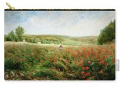 A Corner Of The Field In Bloom Carry-all Pouch
