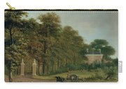 A Country House Carry-all Pouch by J Hackaert