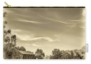 A Country Place 3 - Sepia Carry-all Pouch