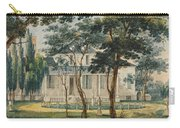 A Country Residence Possibly General Moreau's Country House At Morrisville Pennsylvania Carry-all Pouch