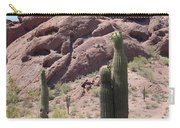 A Couple Of Cacti In Phoenix Carry-all Pouch